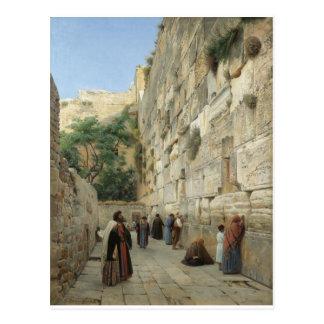Wailing Wall by Gustav Bauernfeind Postcard