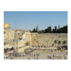Wailing Wall - Old City Jerusalem, Israel Postcard