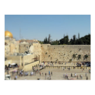 Wailing Wall - Old City Jerusalem, Israel Postcard