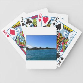 Waimanalo Bay and beach Poker Deck