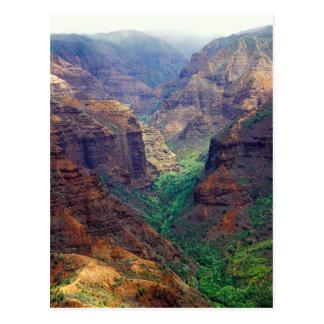 Waimea Canyon - postcard