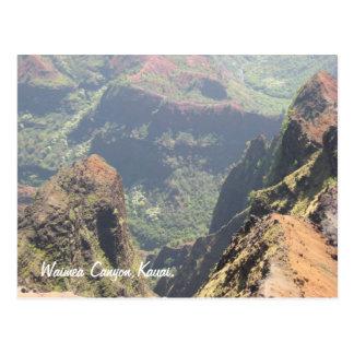 Waimea Canyon Postcard