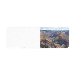 Waimea Canyon Return Address Labels