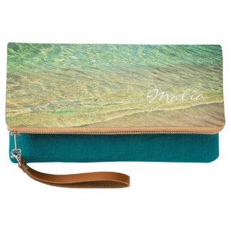 Waimea Sand & Surf Beachy Hawaiian Clutch