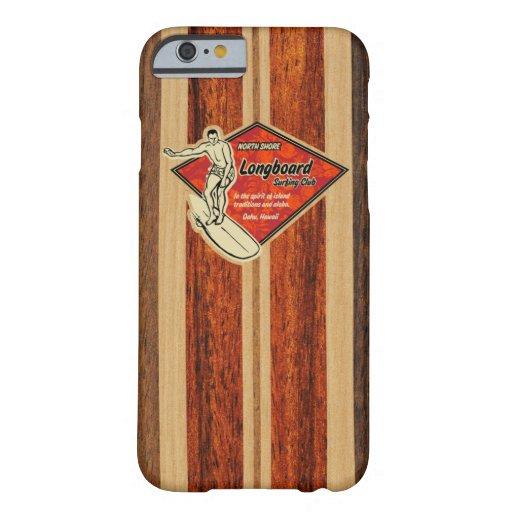 Waimea Surfboard Hawaiian Faux Wood iPhone 6 Case