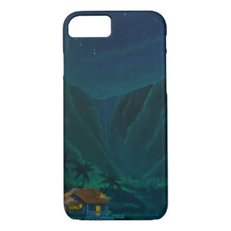 Wainiha Valley Home on a Starry Night iPhone 7 Case