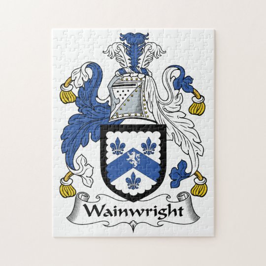 Wainwright Family Crest Jigsaw Puzzle