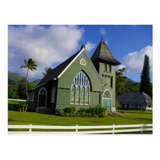 Waioli Huiia Church - Kauai Postcard