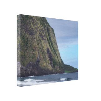 Waipio Valley Cliffs Canvas Print