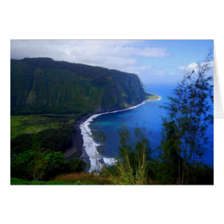 Waipio Valley Lookout, Hawaii, Card