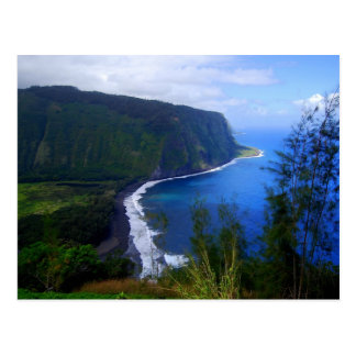 Waipio Valley Lookout Postcard