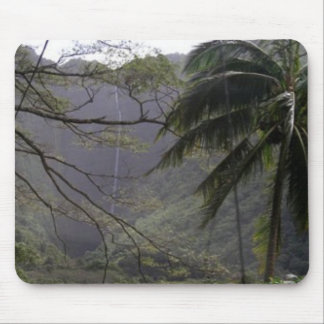 Waipio Valley Waterfall, Hawaii Mouse Pad