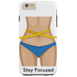 Waist Training Tough iPhone 6 Plus Case
