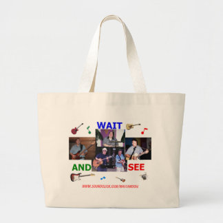 WAIT AND SEE small tote bag