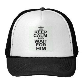 Wait for him trucker hat