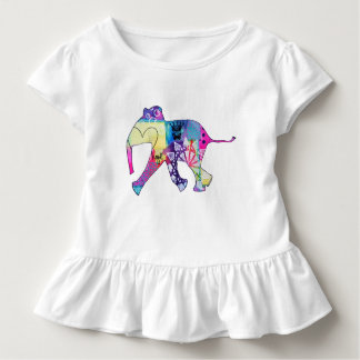 Wait for me baby elephant toddler t-shirt