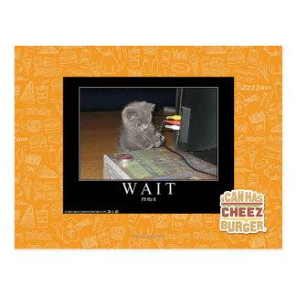 Wait Postcard