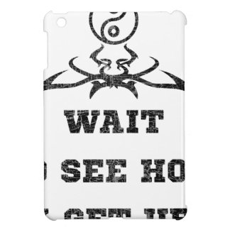 Wait to see how i get up iPad mini cover