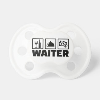 Waiter Baby Pacifiers