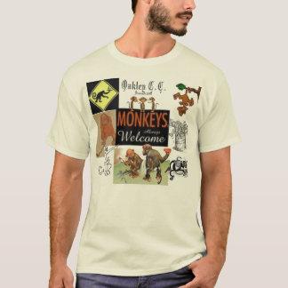 waiter, monkey, golfing monkey, T-Shirt