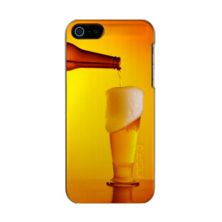 Waiter pouring beer, glass of a cold drink incipio feather® shine iPhone 5 case