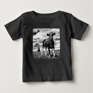 Waiting BW Crop Baby T-Shirt