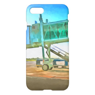 Waiting for a plane iPhone 7 case