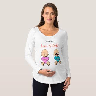 Waiting for... Leia & Luke Maternity T-Shirt
