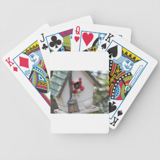Waiting for mama bird bicycle playing cards