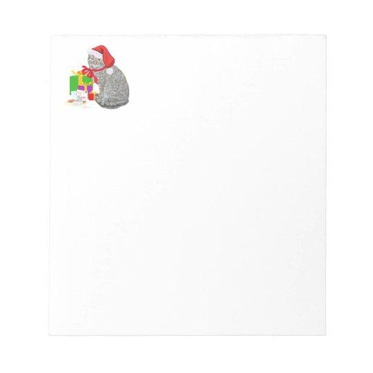 Waiting for Santa Notepad