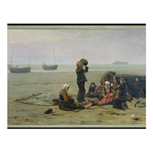 Waiting for the Fish, Berck-sur-Mer Post Cards