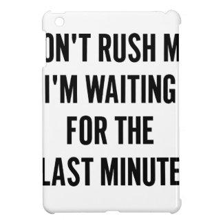 Waiting for the Last Minute iPad Mini Covers