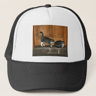 Waiting for the milkman trucker hat