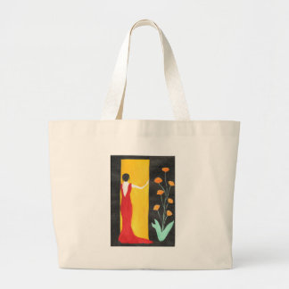 Waiting For You Large Tote Bag
