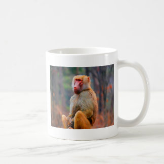 Waiting for you monkey and love classic white coffee mug