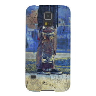 Waiting to Skate  - Skateboarder Galaxy S5 Cases