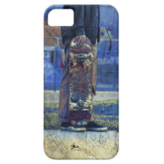 Waiting to Skate  - Skateboarder iPhone 5 Covers