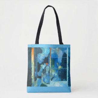 WAITING  tote bag