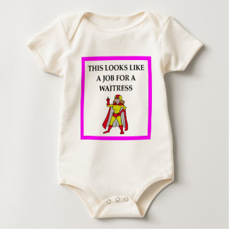 WAITRESS BABY BODYSUIT