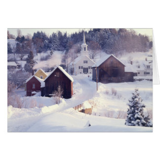 Waits River Vermont Note Card