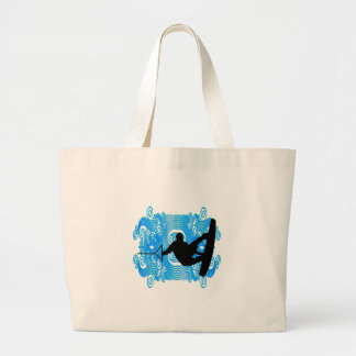 Wake Bound Large Tote Bag