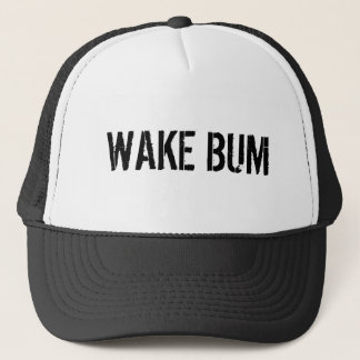 WAKE BUM TRUCKER HAT