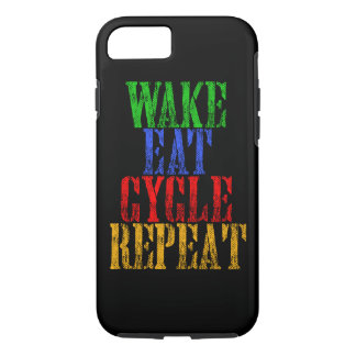 WAKE EAT CYCLE REPEAT iPhone 7 CASE