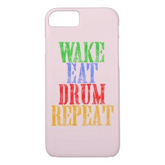 Wake Eat DRUM Repeat Case-Mate iPhone Case