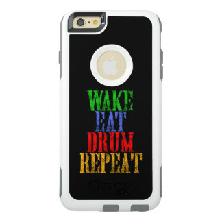 Wake Eat DRUM Repeat OtterBox iPhone 6/6s Plus Case