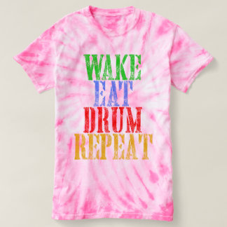 Wake Eat DRUM Repeat T-shirt