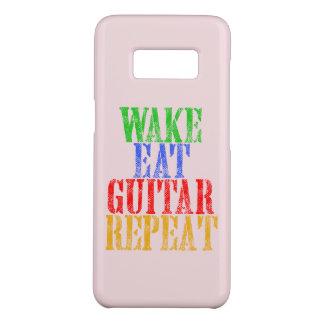 Wake Eat GUITAR Repeat Case-Mate Samsung Galaxy S8 Case