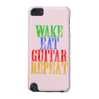 Wake Eat GUITAR Repeat iPod Touch 5G Cover