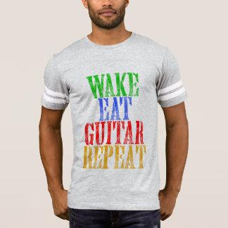 Wake Eat GUITAR Repeat T-Shirt