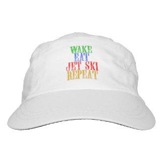 WAKE EAT JET SKI REPEAT HEADSWEATS HAT